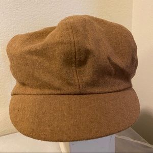 Nine West Camel  Newsboy Hat